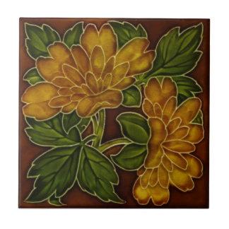 Azulejo floral Repro do Majolica das cores antigas