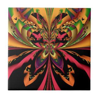 Azulejo heterogéneo da arte do Fractal da borbolet