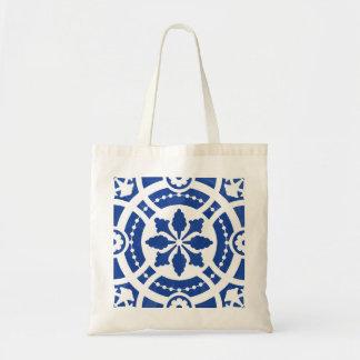 Azulejo original pintado à mão do português bolsa tote