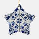 Azulejo Ornamentos Para Arvore De Natal