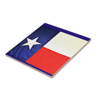 Azulejo pequeno da bandeira de Texas