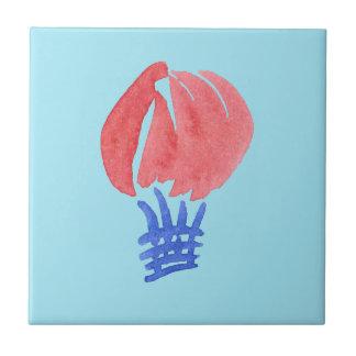 Azulejo pequeno do balão de ar