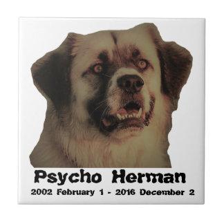 Azulejo psicótico do memorial de Herman