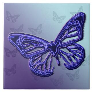 Azulejo roxo da borboleta