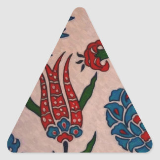 azulejos 2 do turco adesivo triangular