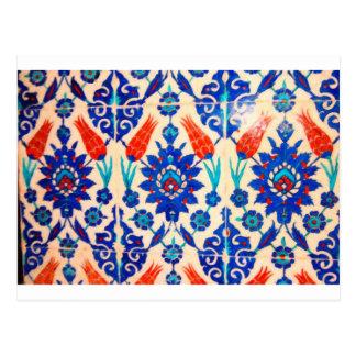 azulejos 3 do turco cartão postal