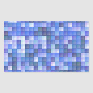 Azulejos azuis adesivo