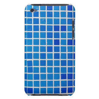 azulejos azuis do banheiro capa para iPod touch