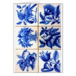Azulejos Cartão Comemorativo