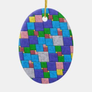 Azulejos coloridos ornamento
