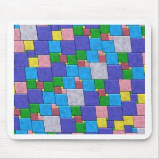 Azulejos coloridos mousepad