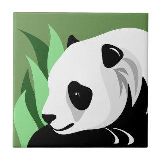 Azulejos da arte da panda gigante