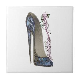 Azulejos da arte dos calçados do estilete