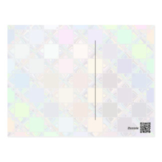 Azulejos de mosaico coloridos cartão postal