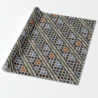 Azulejos do Alhambra Papel De Presente