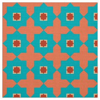 Azulejos do marroquino da sala da biblioteca tecido