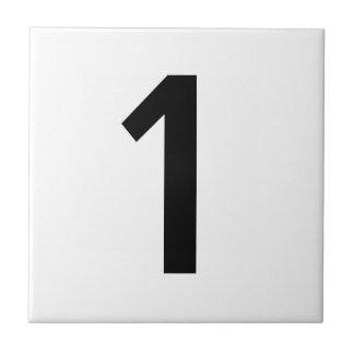 Azulejos do número