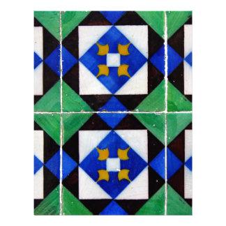 Azulejos Papel Timbrado
