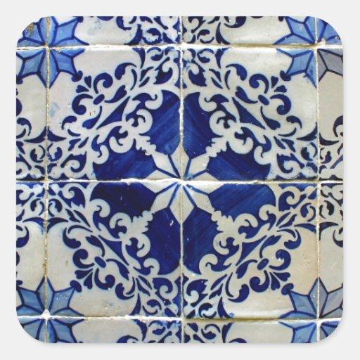 Azulejos, Portuguese Tiles Adesivo
