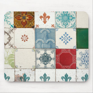 Azulejos portugueses mouse pad
