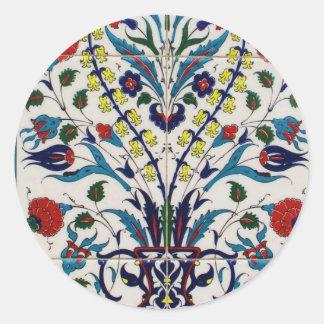 Azulejos tradicionais do design floral do OTOMANO Adesivo