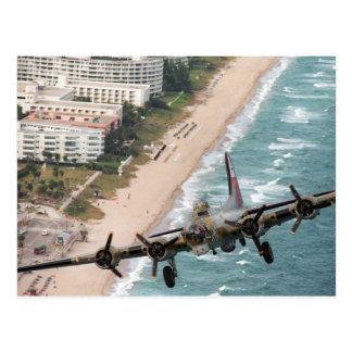 B-17 fora do cartão da costa de Florida
