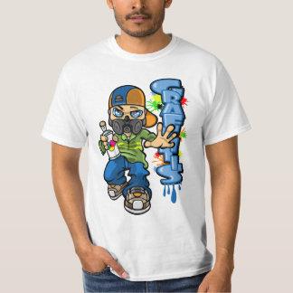 B-boy and graffitis camiseta