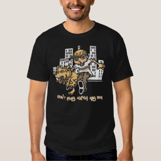 B boy and naughty dog t-shirts