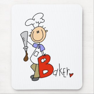 B é para o padeiro mouse pad