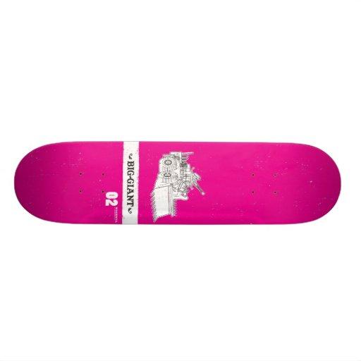 B-G_Deck_Magenta2 Skate