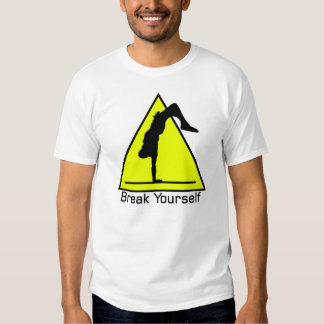 B-Menino da ruptura você mesmo Camisetas