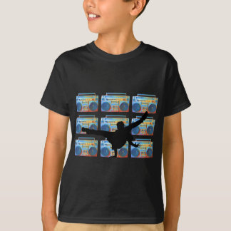 B-Menino de Boombox Camiseta