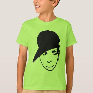 B-menino do Anime. Engrenagem de Hip Hop Camiseta