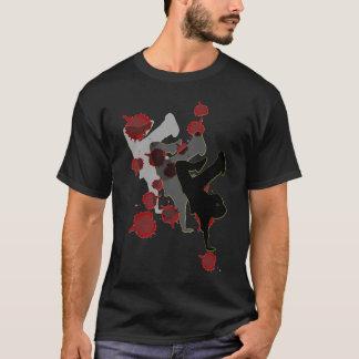B-Menino: T-shirt da obscuridade da sombra Camiseta