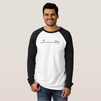 B+W Jesus-Porque um dia, você está indo morrer Camiseta
