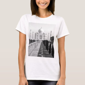 B&W Taj Mahal 3 Camiseta