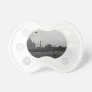 B&W Taj Mahal 5 Chupeta De Bebê