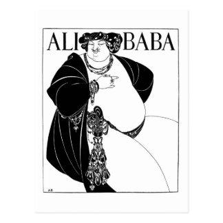 Babá de Ali, Aubrey Beardsley Cartão Postal