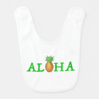 Babador ALOHA verde havaiano do abacaxi da ilha tropical