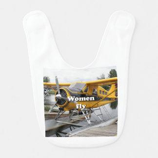 Babador As mulheres voam: plano do flutuador, capa do