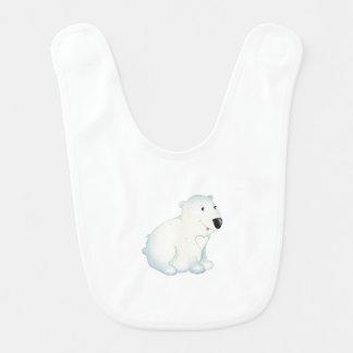 """Babador """"Babador do urso polar do selo pequeno do amor do"""