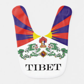 Babador Bandeira da bandeira do leão de Tibet ou de neve