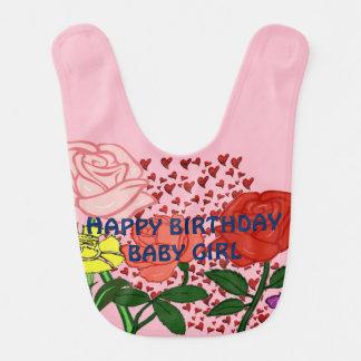 Babador Bebé do feliz aniversario