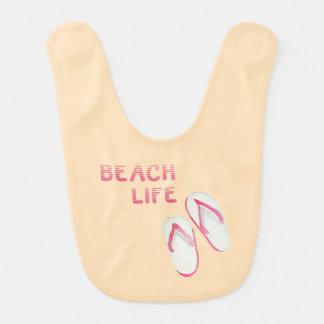 Babador Chinelos da vida da praia