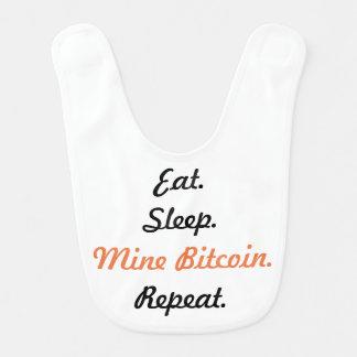 Babador Coma. Sono. Mina Bitcoin. Repetição