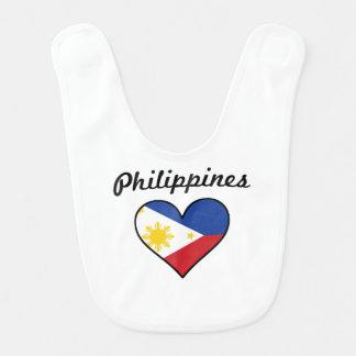 Babador Coração da bandeira de Filipinas