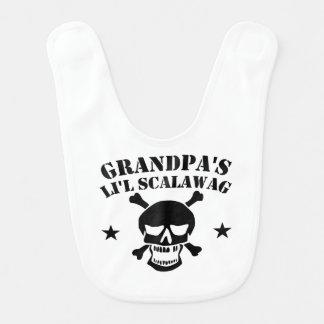 Babador Crânio do pirata do Scalawag do Li'l do vovô