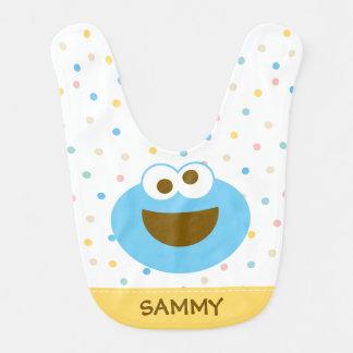 Babador De Bebe A cara grande | do bebê do monstro do biscoito