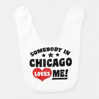 Babador De Bebe Alguém em Chicago ama-me