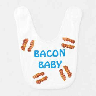Babador De Bebe Amante do bacon do bebê do presente do bebê do